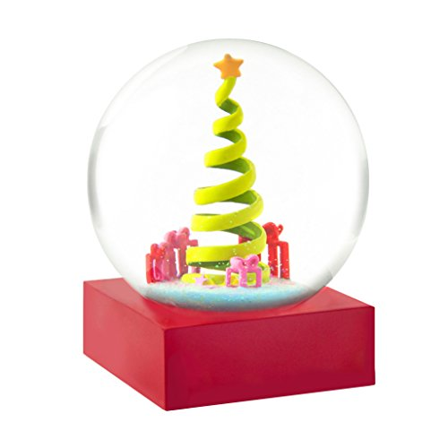 CoolSnowGlobes Ribbon Christmas Tree Snow Globe by CoolSn...
