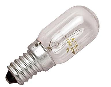 2 bombillas para nevera y congelador 15 W: Amazon.es: Iluminación