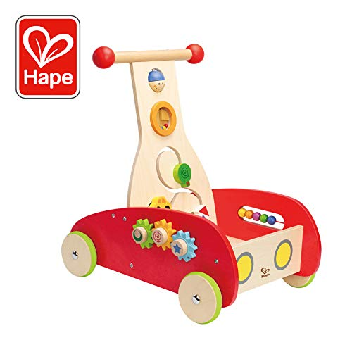 Award Winning Hape Wonder Walker Push and Pull Toddler Walking Toy (Best Push Toys For Walking)