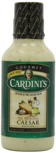Cardini's Original Caesar Dressing, 20-Ounce Bottles (Pack of 6) (Best Store Bought Caesar Dressing)