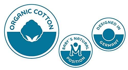 jeans-blau f/ür Neugeborene /& Babys ab Geburt manduca Sling  Navy  Elastisches Babytragetuch mit GOTS Zertifikat 100/% Bio-Baumwolle 3 Binde-Anleitungen Bauchtrage, Wickelkreuztrage, H/üfttrage