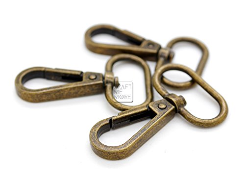 Small Hook Antique Brass - CRAFTMEmore 3/4
