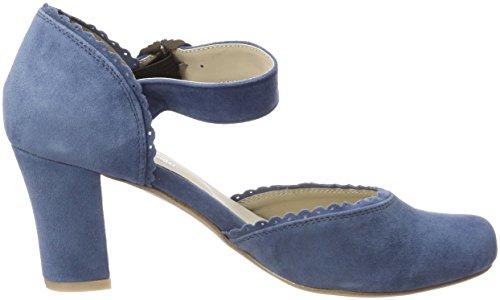 Scarpe Chiusa 274 Donna 3005715 col Jeans Hirschkogel Punta Tacco Blu pS17cHq