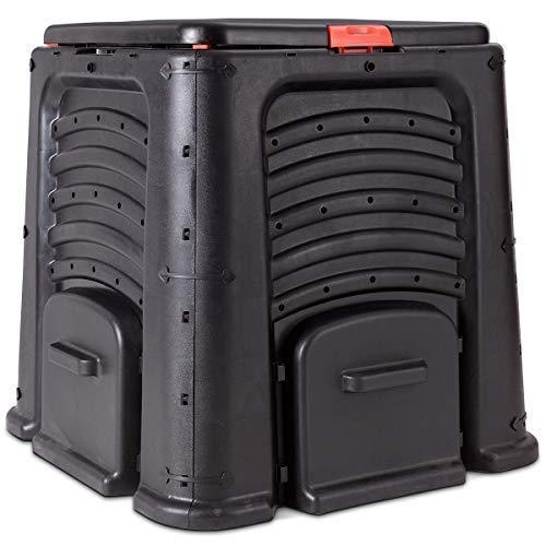 GOPLUS Cubo de Basura para Compost de 105 galones de tamaño Grande ...