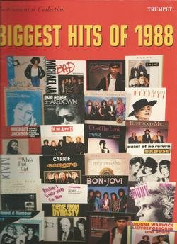 Instrumental Collection Biggest Hits of 1988 for Trumpet, Warner Bros