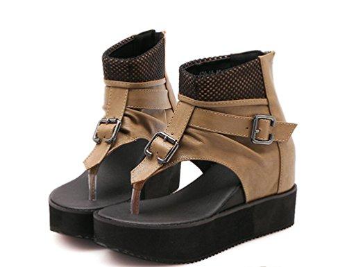 Deux Couleurs 8cm Pinch Chanen Talon Upscale Lady Poe Etudiants Haut Shopping Velcro xie Boots Daily Toe qw6CnaOF
