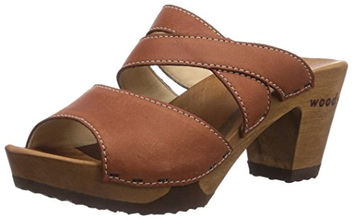 Woody Women's Samantha Mules Brown - Braun (Cuoio) gfSlqzG