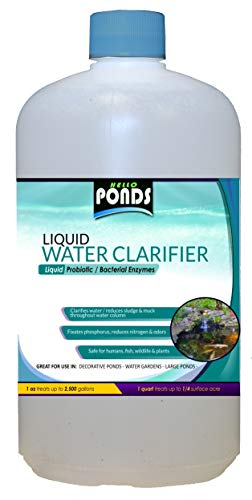 Pond Bacteria Enzymes Super Concentrate All Season Liquid Water Clarifier (16 Ounce)
