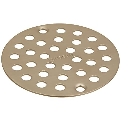 outlet Moen 102763BN Kingsley 4-Inch Screw-In Shower Strainer, Brushed Nickel