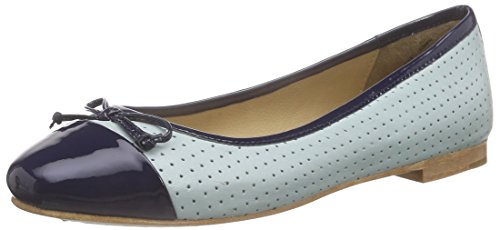 756 Marc Fermées Blau Ballerines Light Bleu Bea combi Femme Shoes Blue aaqv71g