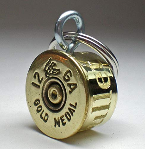 12 Gauge Federal Gold Medal Duck Stamp Bullet Engraved Personalized High Brass Genuine Bullet Pet Dog Tag Pet I.D.Tag