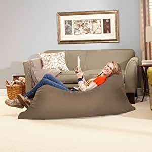 Floor Pillow To Watch Tv : Amazon.com: Novaform, Pillow Lounger Oversized Pillow Provides Cushion for Comfortable Lounging ...