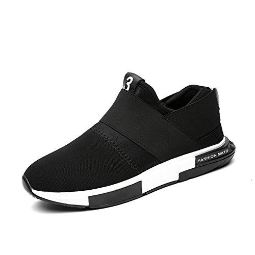 Cómodo y transpirable en verano zapatos de ocio/Zapatos plataforma antideslizante Joker hombres A
