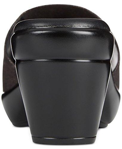 Callisto Womens Lima Open Toe Casual Platform Sandals Dusty Black ZLlRgW8