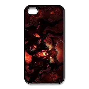 iphone4 4s Black phone case Shadow Fiend Dota 2 DOT8686075
