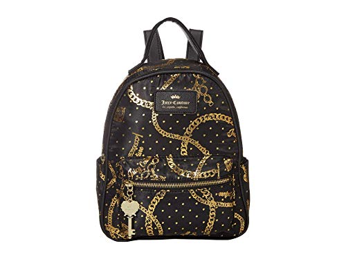Juicy Couture Jewelry Box Backpack Gold Chain One Size