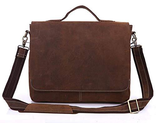 Uomo Sezione Pelle Americano Crazy Moda Impre Grande Handbag Ss File Leather Borsa Europeo E Trasversale Di Circlefly A Horse Men Hijab In Sincronia 5qwg6C