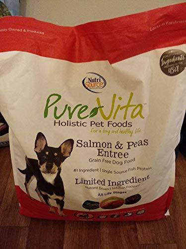 Pure Vita Grain Free – Salmon & Peas Entree – 25 Lb