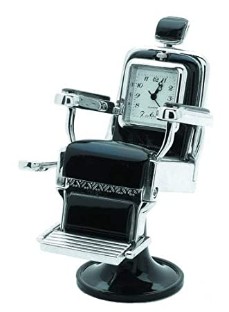 Amazon.com: sanis Empresas Swivel Barbero silla Mini reloj ...