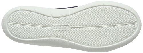 Bailarinas para Swiftwater Mujer Crocs White Blu Navy ZqT5Ew