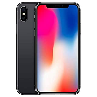 Apple iPhone X (64GB, Space Gray) [Carrier Locked] + Carrier Subscription [Cricket Wireless]