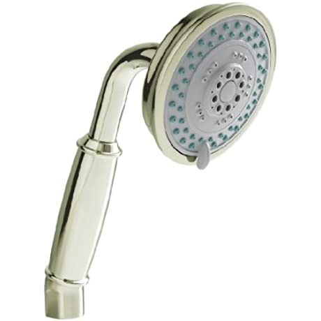 Newport 281 1 15 Brass Traditional Multi Functional Handshower Polished Nickel