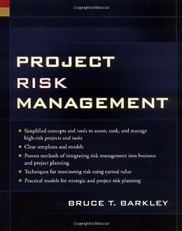 pdf project risk management barkley