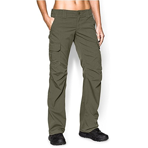 Under Armour Women's Tactical Patrol Pant, Marine Od Green /Marine Od Green, 8