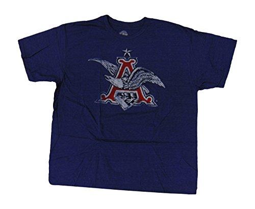 anheuser-busch-mens-t-shirt-distressed-classic-eagle-a-logo-heather-blue-m