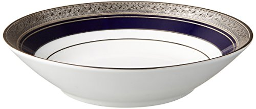 Platinum Fruit Dessert Bowl - Noritake Crestwood Cobalt Platinum Fruit Bowl