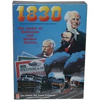 Avalon Hill - 1830 the Game of Railroads & Robber Barons