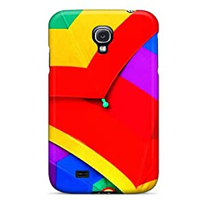 Fashionable QWJMXFX4927loCLd Galaxy S4 Case Cover For Colourful Umbrella Protective Case