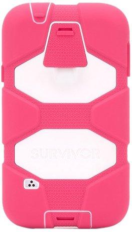- Griffin Survivor Case for Samsung Galaxy S5 - Retail Packaging - Pink/White