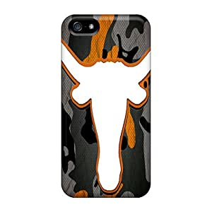 For Iphone 5/5s Fashion Design Longhorn Camo Cases-sqz4303vrYr