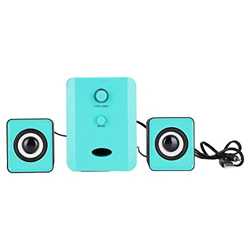 fasient Equipped with a 3Inch Woofer, Mini Speaker, Heavy Bass Loudspeaker, 4W Portable Computer Mobile Phone for…