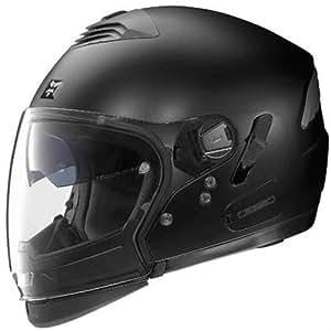 Nolan N43E Trilogy Outlaw Helmet (Flat Black, XX-Large)