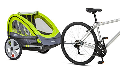 InStep Quick N EZ Double Bicycle Trailer - Lifestyle Updated