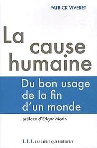 La cause humaine par Patrick Viveret