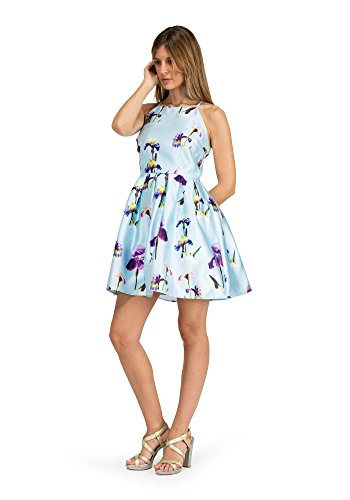 Blau barbarella Partykleid 3 Azul Paulette Damen t6rqx6ST