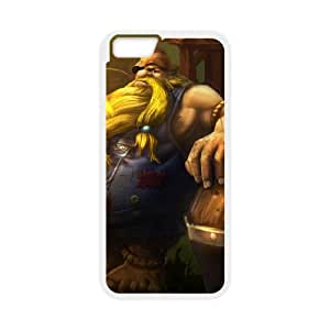 League of Legends(LOL) Gragas iPhone 6 Plus 5.5 Inch Cell Phone Case White 11A099799
