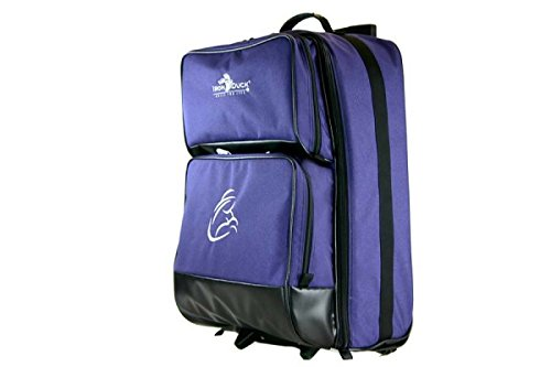 Midwife Wheeled Bag for O2, AED, and More with an Embroidered International Midwife Symbol.Made in the USA and Crafted Especially For Midwives!