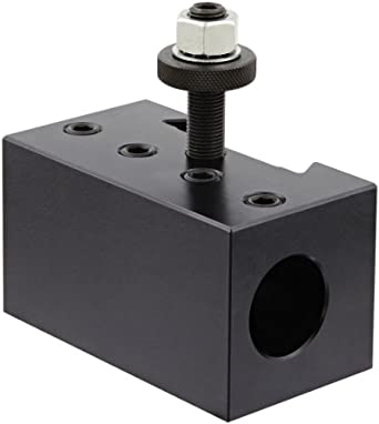 """Dorian Tool D4-CNC Heavy Duty Chromium Molybdenum Alloy Steel Quick Change Boring Bar Toolholder with CNC Locking System for SDN40CA Super Quick Change Tool Post, 1-1/4"""" Tool Capacity, 4-1/2"""" Width, 2-31/64"""" Height"""