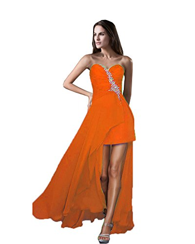 Vimans Damen ALinie Kleid Orange L14V1eByJ - workshop.buero ...