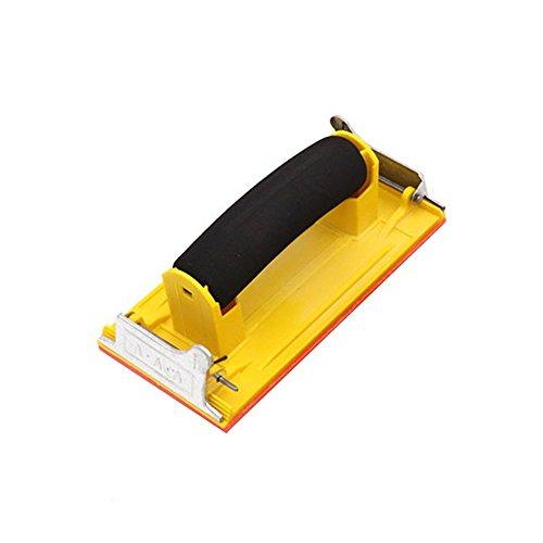 CGMJ Pack of 4 Sponge Handle Hand Sander Sand Paper Holder Clip by CGMJ (Image #6)