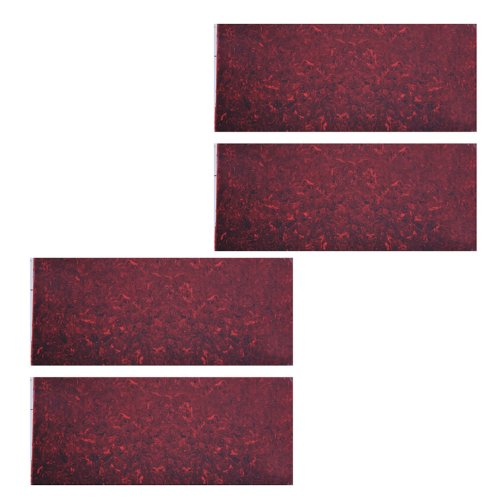 4pcs 18*46cm Adhesive Acoustic Pickguard Material Scratch Plate Soft