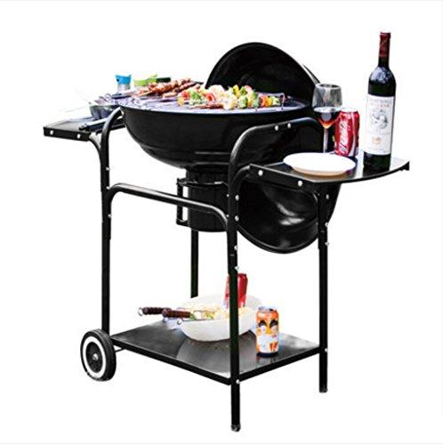 BBQ Grill esterno, Griglia a carbone, Griglia in acciaio inox, Griglia pieghevole multifunzione,120cm57cm100cm (11.3kg)