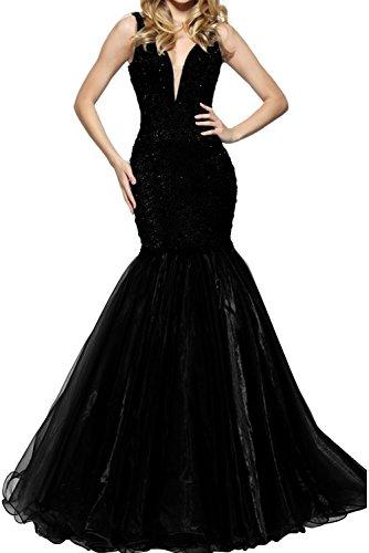 Vestido para para mujer Topkleider Vestido Topkleider Negro qgx1wqt67