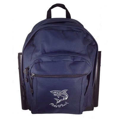 Cheap Fishnpack Top Predator Backpack with Rodholders (Navy Blue)