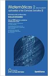 Matemáticas Aplicadas a las Ciencias Sociales II 2