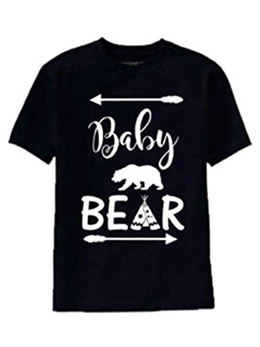 Amazoncom Sr Bear Family T Shirts For Mama Bear Papa Bear Baby